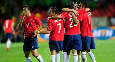 Chile vencio a Suiza