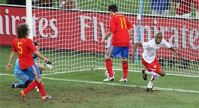 Suiza vencio a España