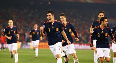 España 2 Chile 1