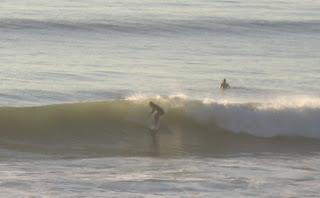 Surfers at Grandview in Leucadia