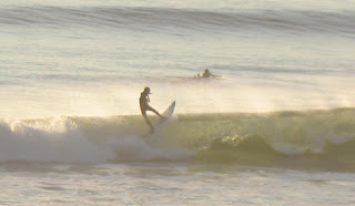 Surfers at Grandview in Leucadia