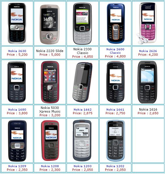 you mobile phones price list in pakistan not development