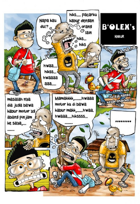 Wawancara dengan Olexs Cartoonist