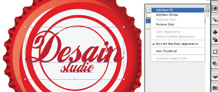 Tutorial Tutup Botol dengan Adobe Illustrator
