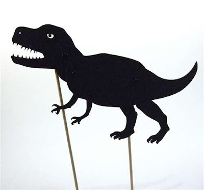 Super cool shadow puppets from Monkey and Wellington - I think the T ...