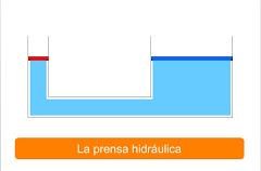 La prensa hidráulica