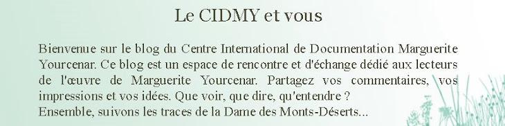 Le CIDMY et vous