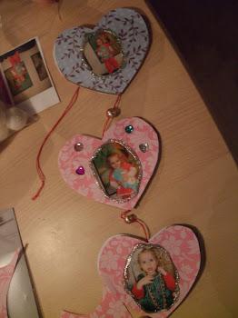 DIY hjerteophæng til jul og hele året.