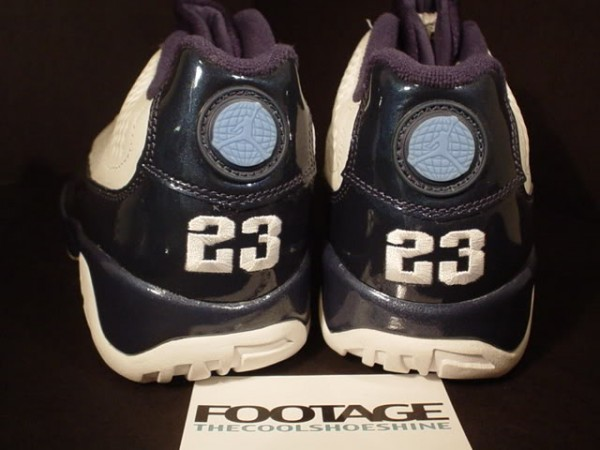 "THE SNEAKER ADDICT  Air Jordan 9 Low ""Blue Pearl"" – 2001 Sample baf23c2b57"