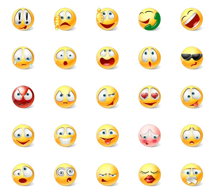 Text Anime Emoticons Anime/manga Emoticons |