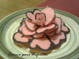 ROSA DE SANT JORDI DE CHOCOLATE