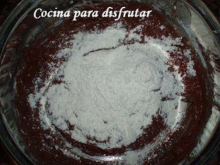 receta PLUM CAKE DE CHOCOLATE Y NUECES