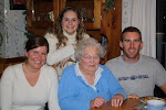 My wonderful Grandmother, sister, and brother