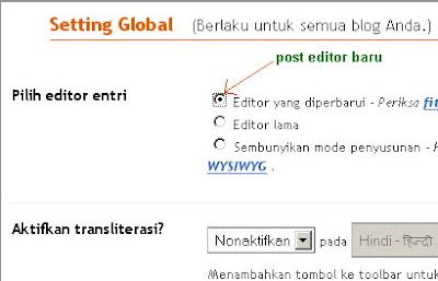 post editor baru