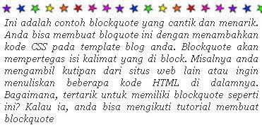 blockquote-stars
