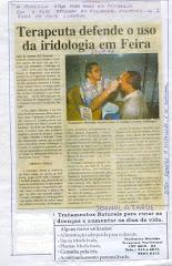 TERAPEUTA DEFENDE O USO DE IRIDOLOGIA