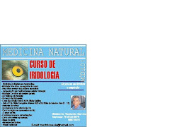 COM CERTIFICADO, CURSO DE IRIDOLOGIA