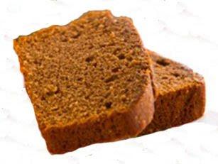 Шоколадно-медовый кекс