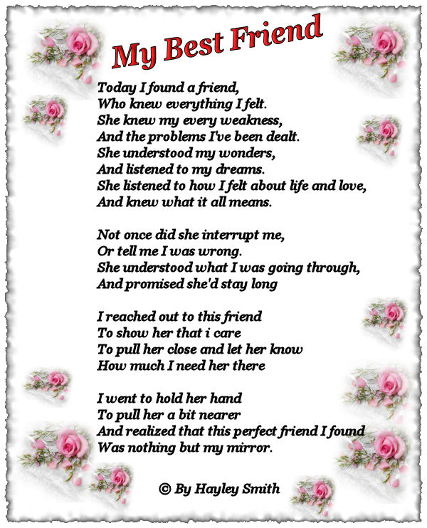 Funny Best Friend Poems dinakar: My Bes...