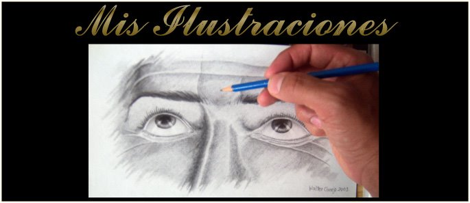 Ilustraciones manuales de Walter Conejo Carballo