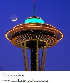 just visiting puget sound wa space needle restaurant