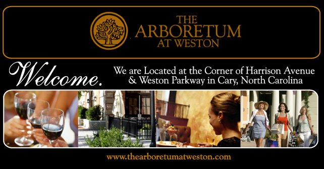 The Arboretum at Weston - Cary, NC, The Shops at the Arboretum, Shops of Arboretum Cary