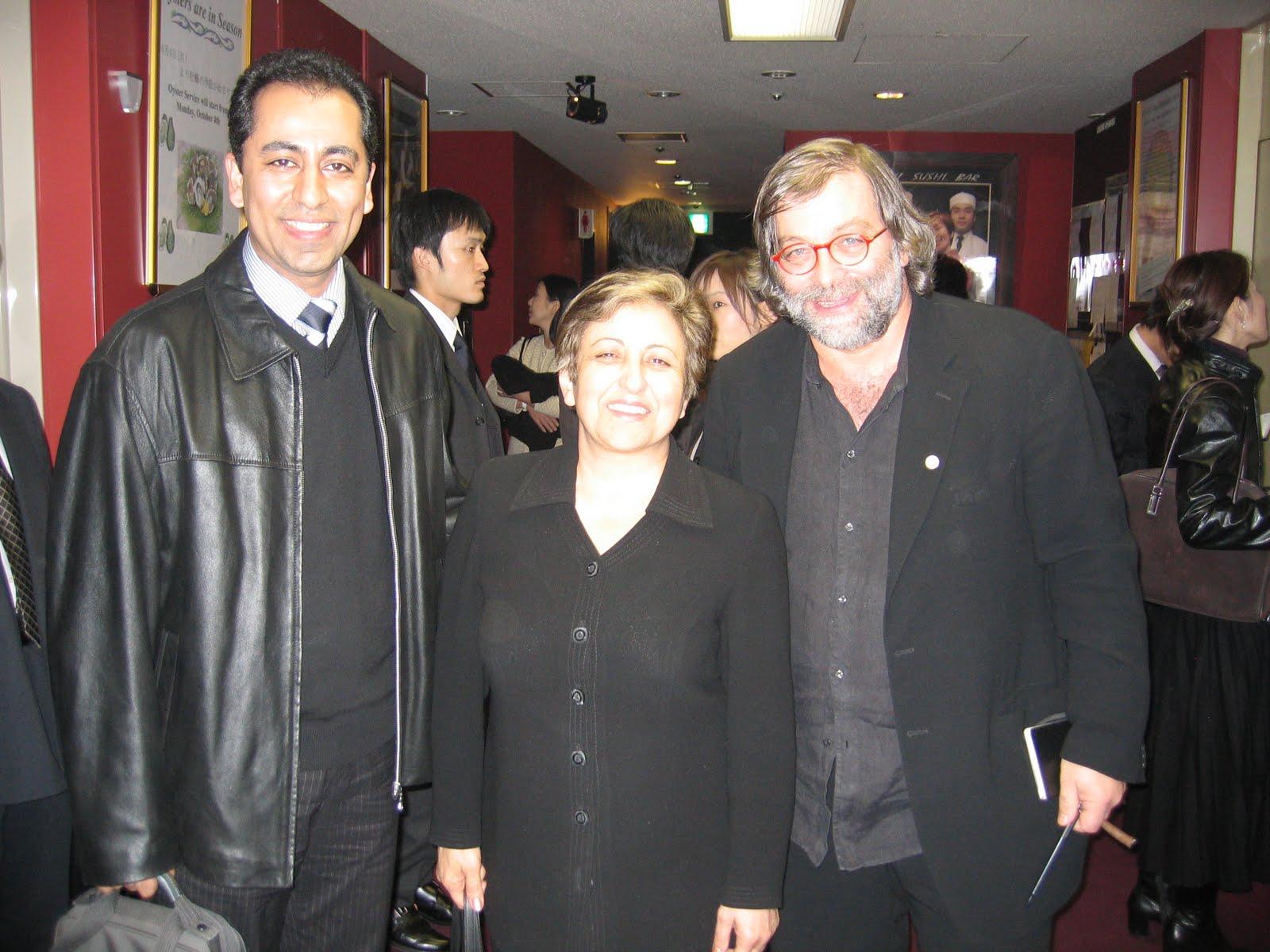 Shirin Ebadi in una foto dell anno scorso quando l abbiamo invitata alla Stampa Estera di Tokyo per una conferenza