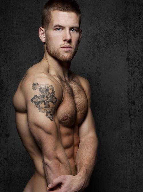 tattooed hunks hot triceps