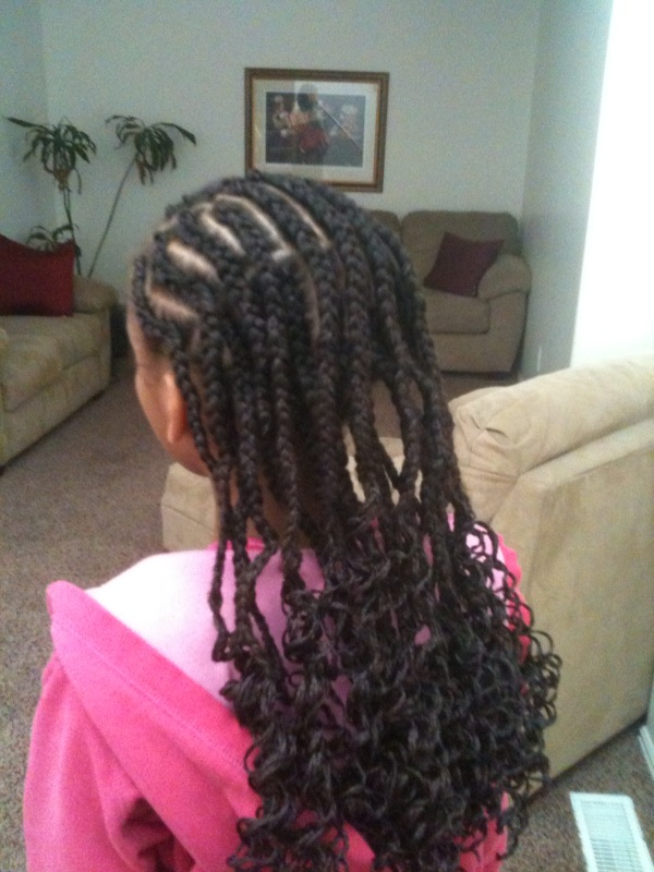 unusual hairstyles : Cornrows Braids Extensions Two Layers Of Cornrows LONG HAIRSTYLES