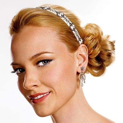 Wedding Hairstyle With Side Bun