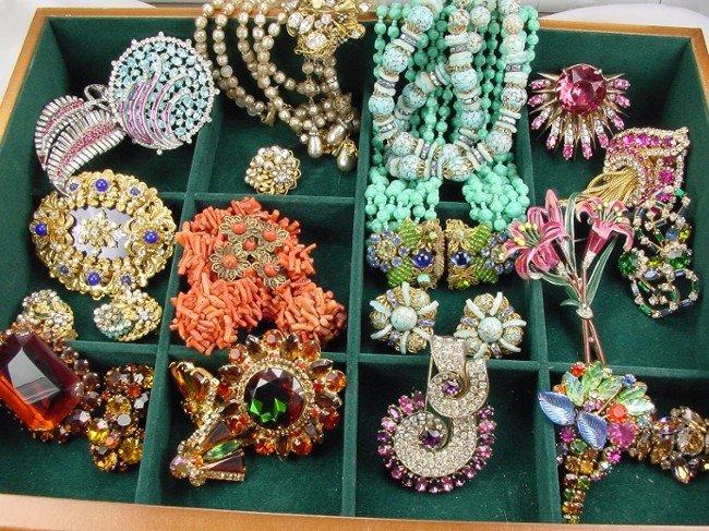 Albert costume jewelry vintage weiss