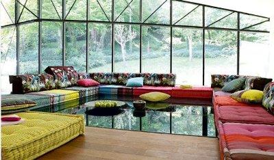 Sofas Decorando Interiores