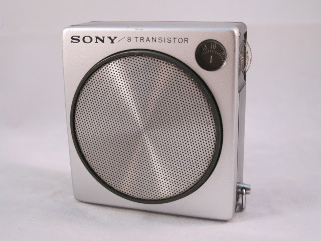Mikes Old Radios  Sony 2r