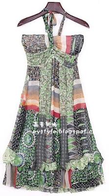 Платье 9981 на бретельках.