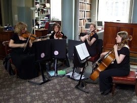 THE CANONGATE STRING QUARTET AT THE SIGNET LIBRARY