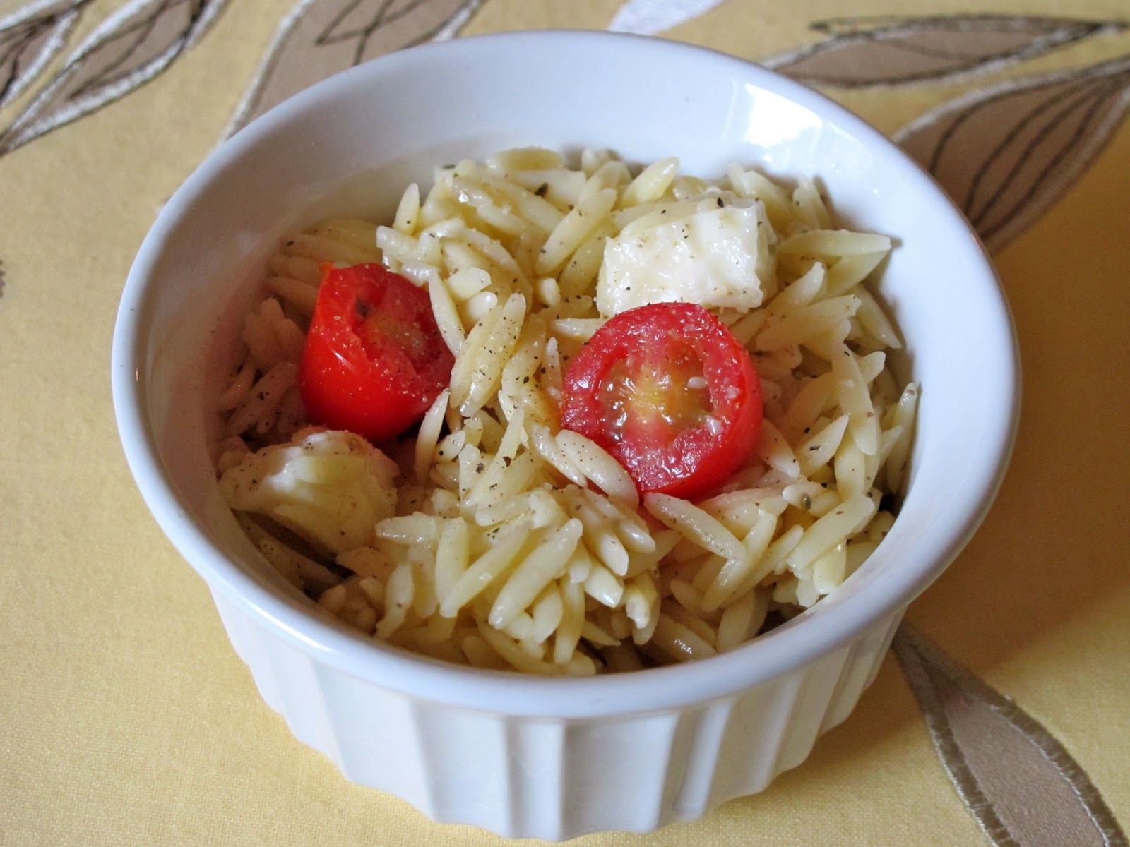 Lucky for you, I'm sharing the orzo salad recipe today! It's SUPER ...