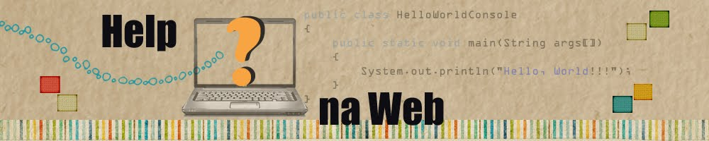 Help na Web!!