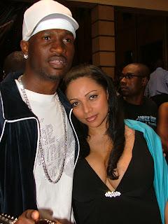 Peter Okoye and girlfriend, Lola Omotayo