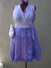 Ordførerens kjole og veske til de Kongeliges besøk sept. 09