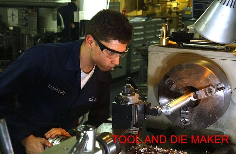 TOOL AND DIE MAKER: Job Description as Tool and Die Maker