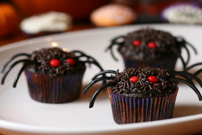 categories cupcakes - Halloween Inspired Cupcakes