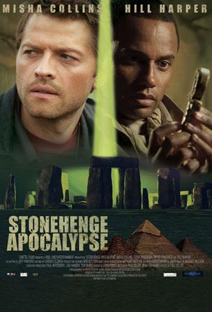 Filme Poster Stonehenge Apocalypse DVDRip RMVB Legendado