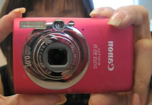 My PINKY - Canon IXUS 95