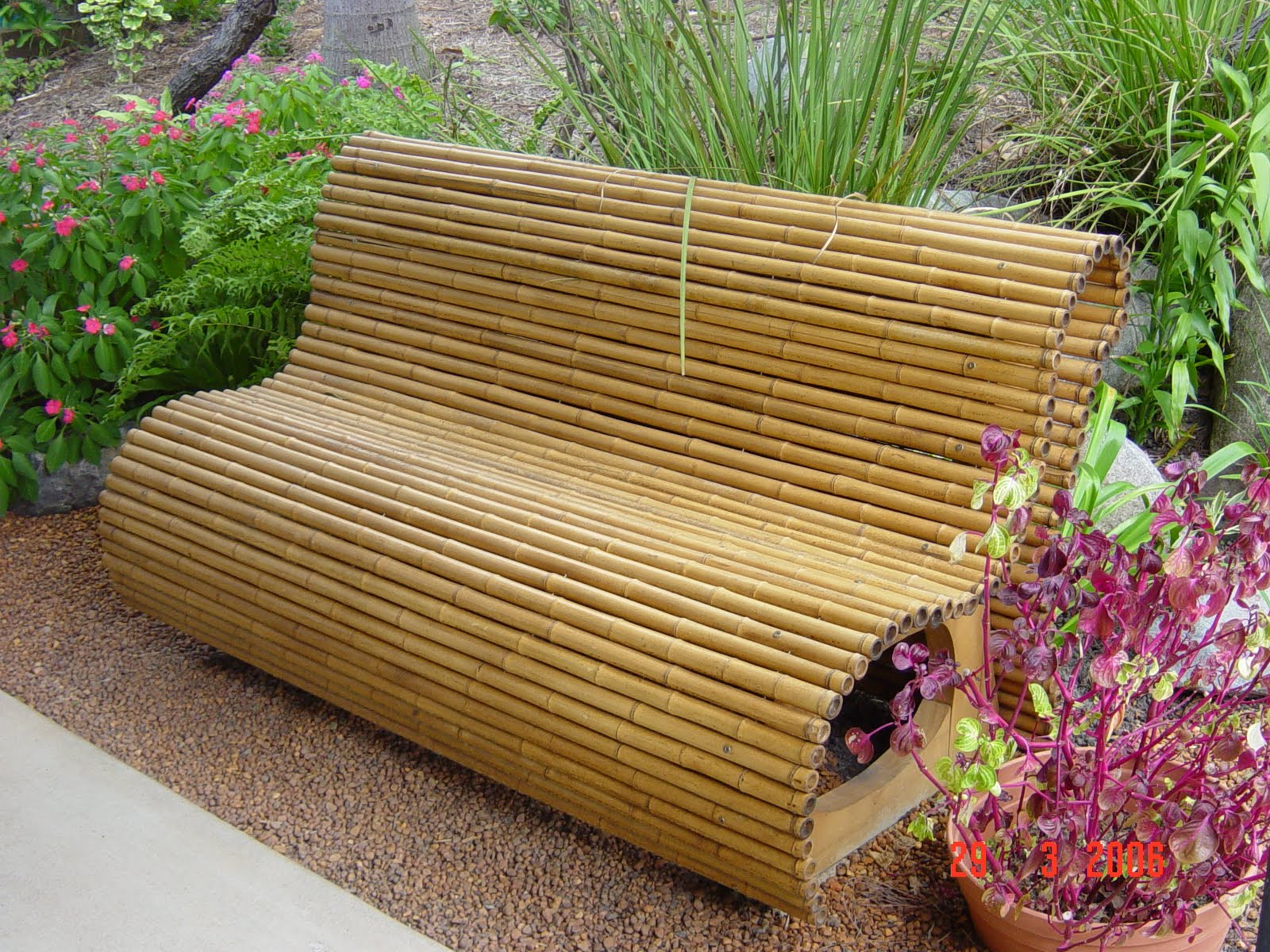 Noosa Custom Lattice Bamboo Furniture