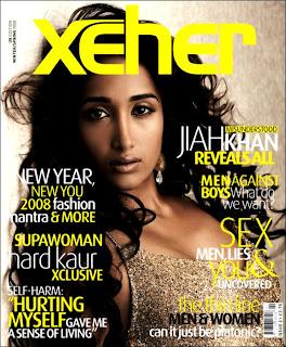 Jiah Khan Xeher UK Magazine Scans
