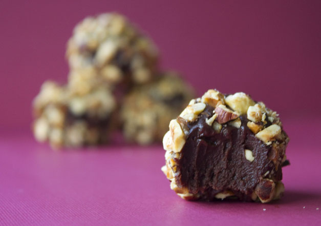 Erica's Sweet Tooth » Dark Chocolate Hazelnut Truffles