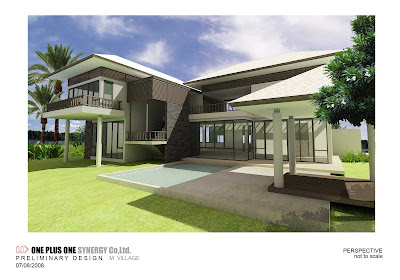 Home Design on The M Place  Design 2 Storey House  Different Roof Designs
