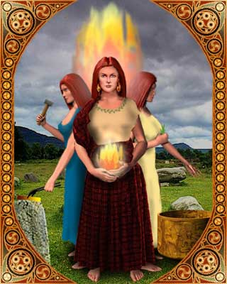 Annie's Hearth: Brigit Celtic Goddess of Fire