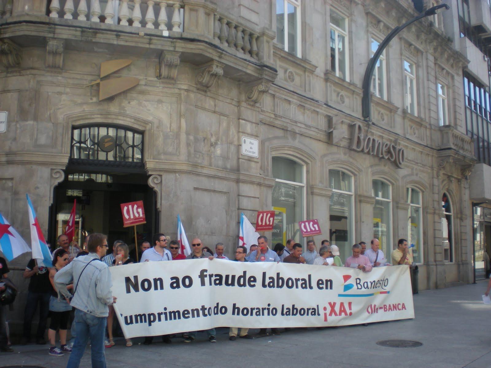 Secci n sindical cig santander 2010 06 for Oficinas bbva vigo