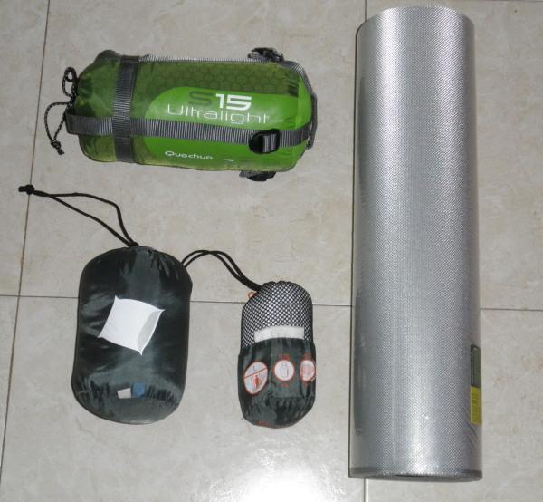 Camino franc s 2010 equipo para dormir - Colchonetas para dormir en el suelo ...